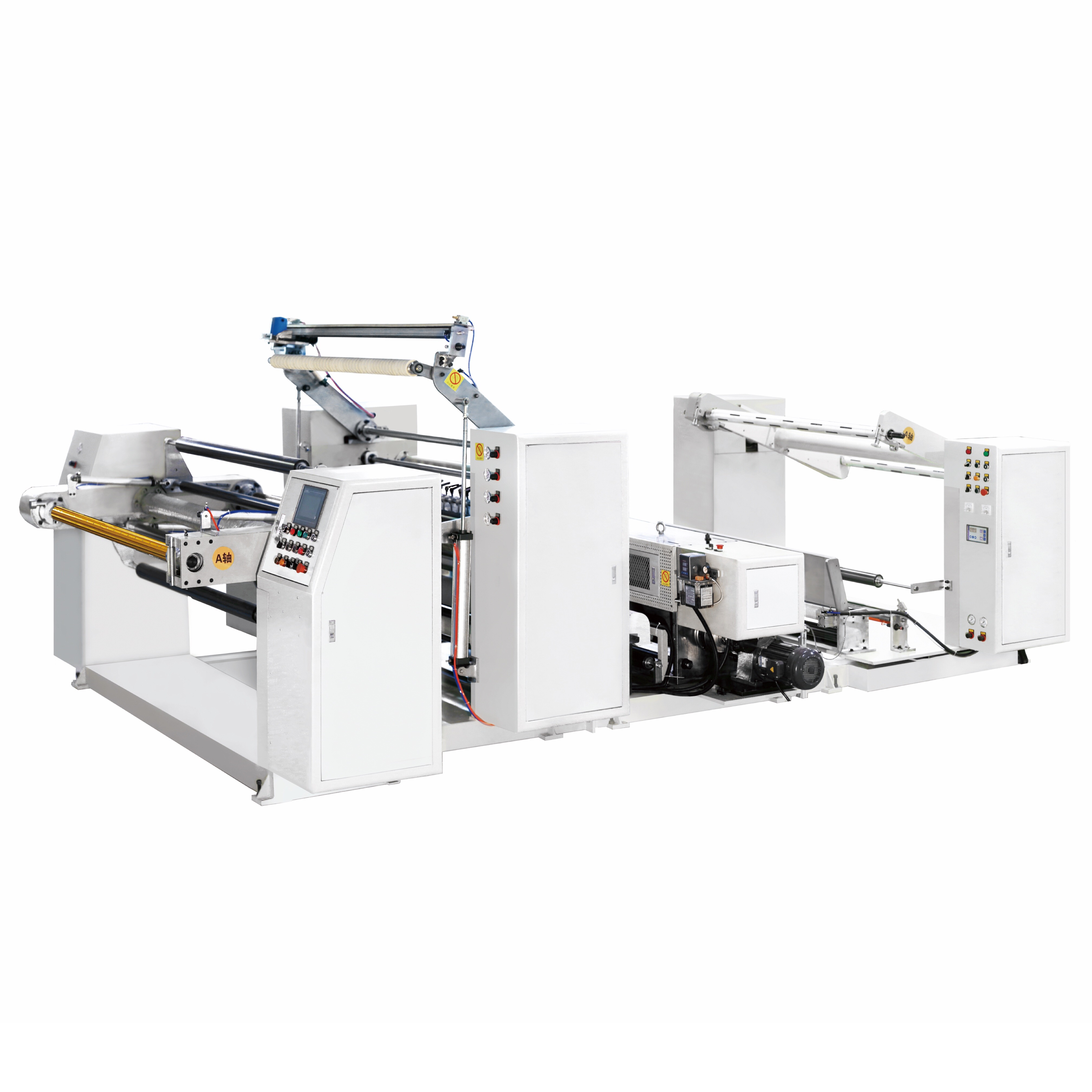 Non Woven Pouching And Embossing Machine